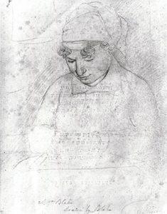 Catherine Blake c. 1805, by William Blake